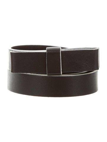 Prada Leather Bow Belt