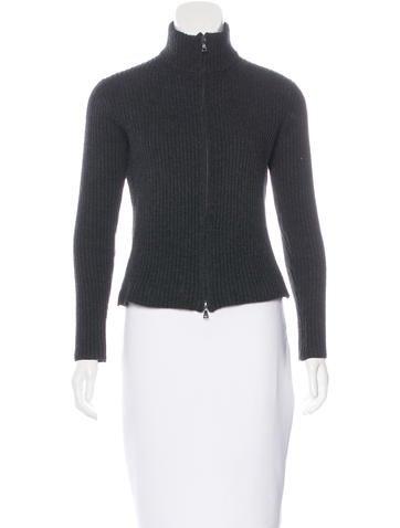 Prada Wool Knit Jacket None