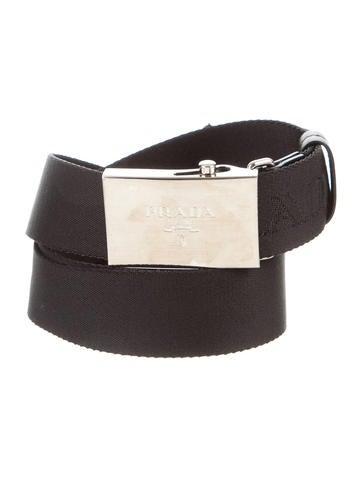 Logo-Embellished Woven Belt