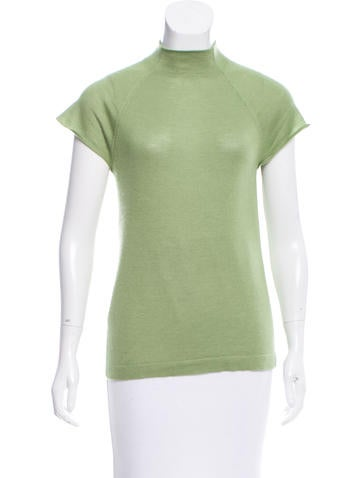Prada Cashmere & Silk-Blend Top
