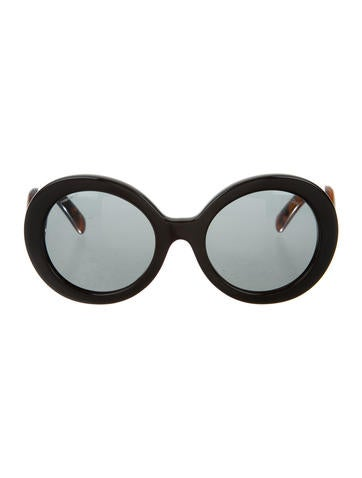 Baroque Oversize Sunglasses