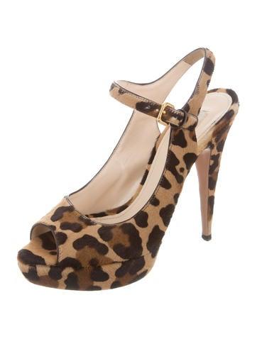 prada leopard platform sandals shoes pra130213 the
