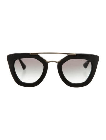 Prada Oversize Cat-Eye Sunglasses