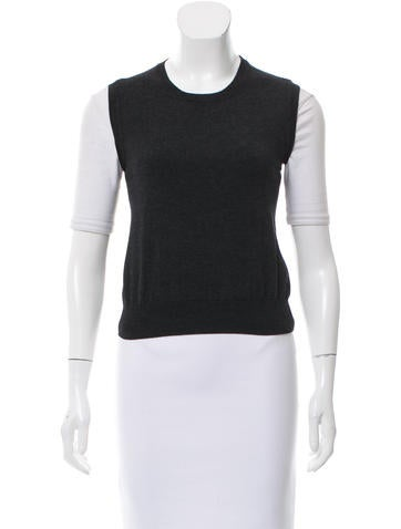 Prada Pullover Knit Vest None