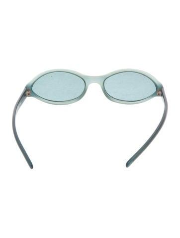 Tinted Oval Sunglasses