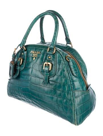 Crocodile Bauletto Bag