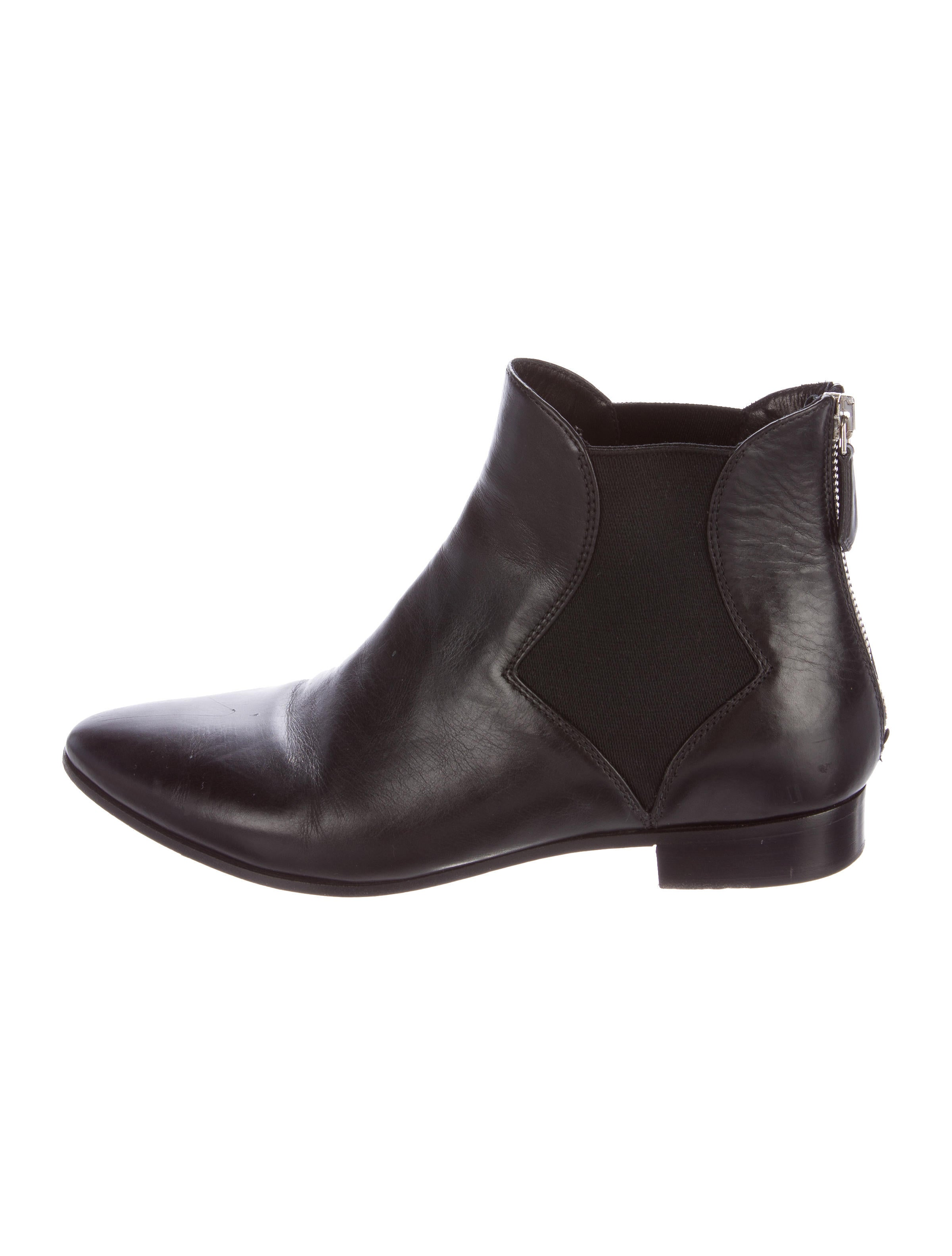 prada leather chelsea ankle boots shoes pra132480