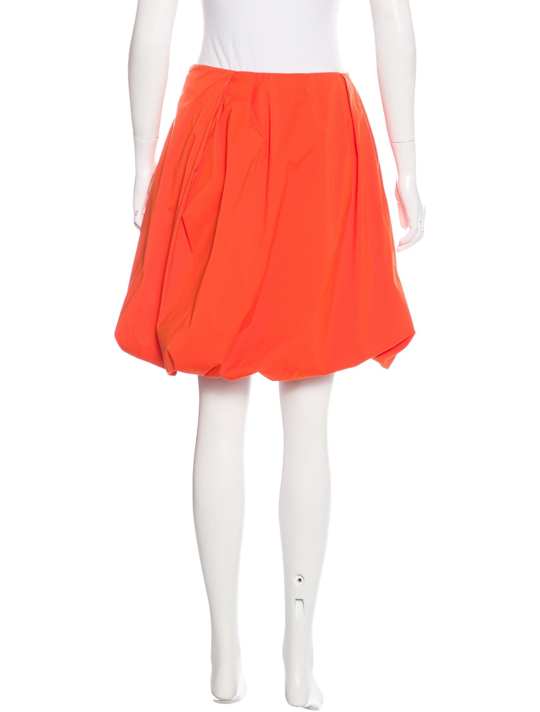 Bubble Hem Skirt 48