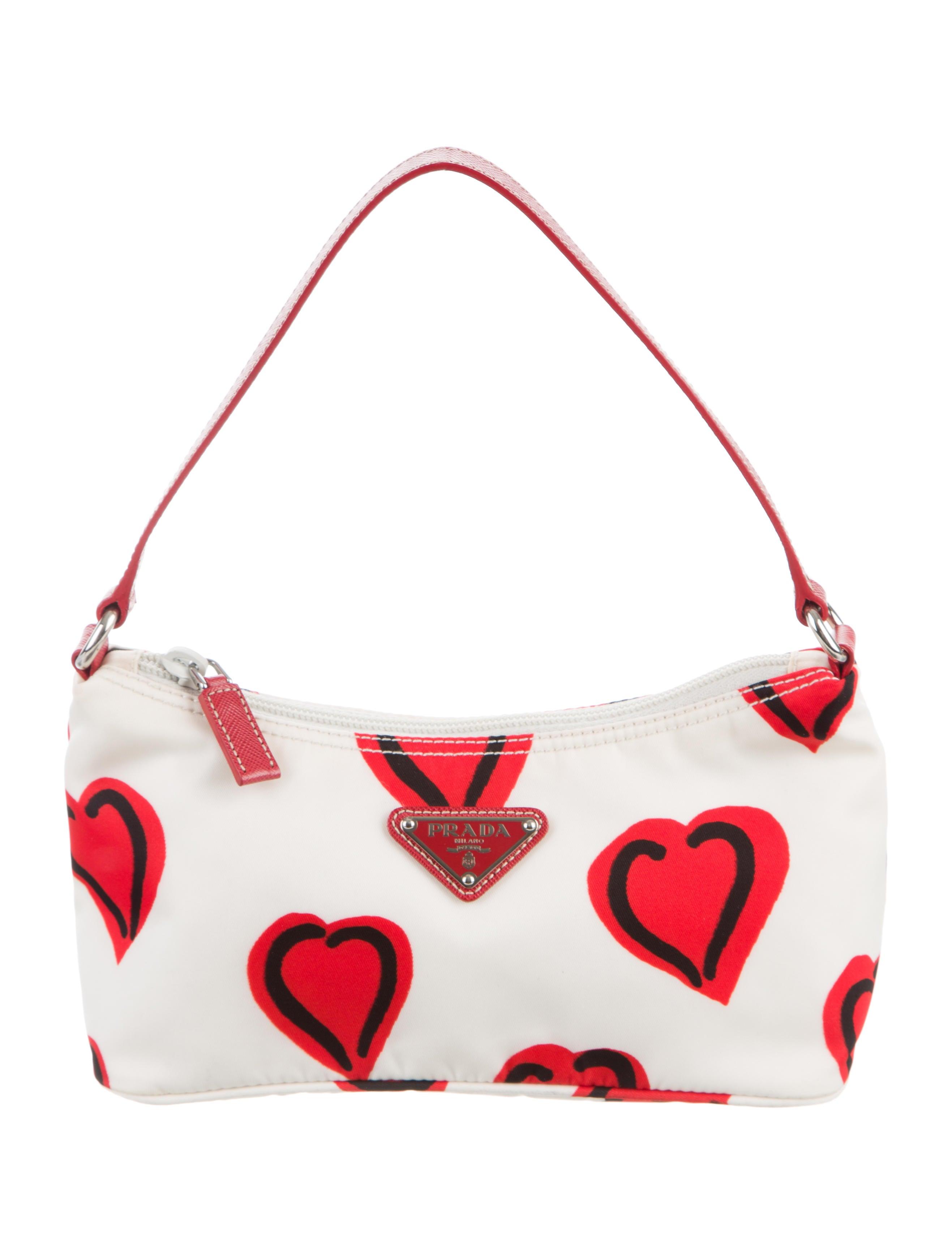 910f14da59cf Prada I Heart Shoulder Bag - Handbags - PRA134251 | The RealReal