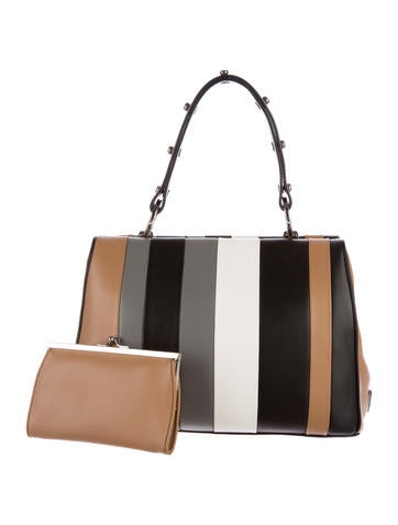 8e644aa3e0 Prada 2016 Calf Baiadera Frame Bag - Handbags - PRA134315