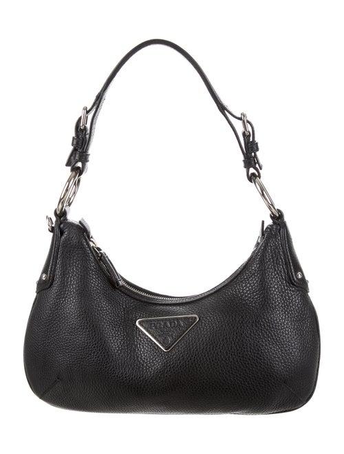 a48ab1d5e9 Prada Small Vitello Daino Hobo - Handbags - PRA134364