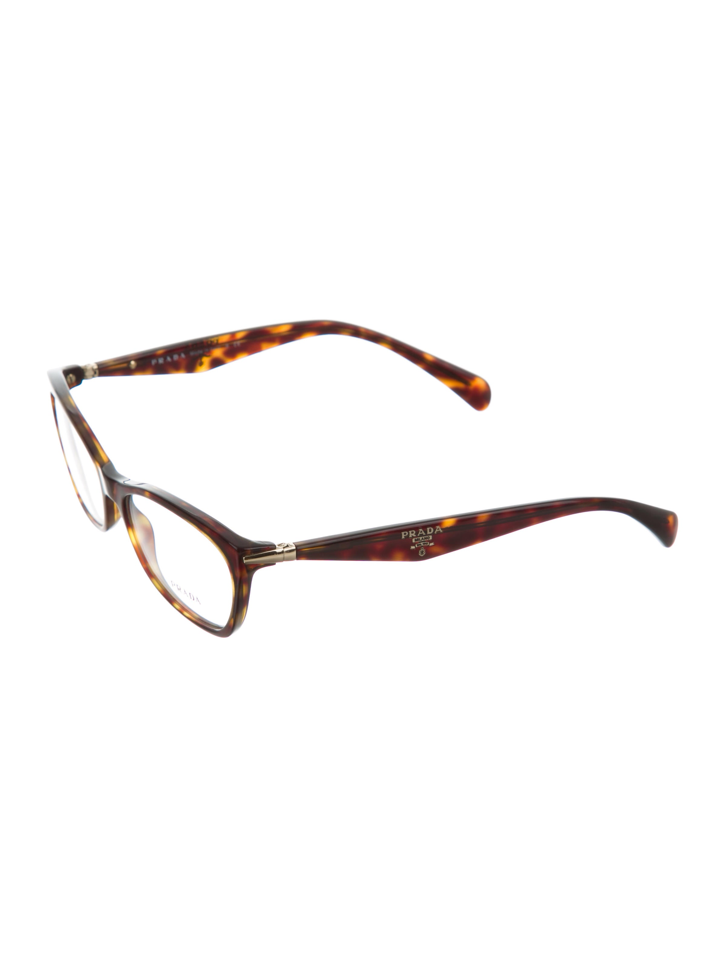 Glasses Frames Too Narrow : Prada Narrow Tortoiseshell Eyeglasses - Accessories ...