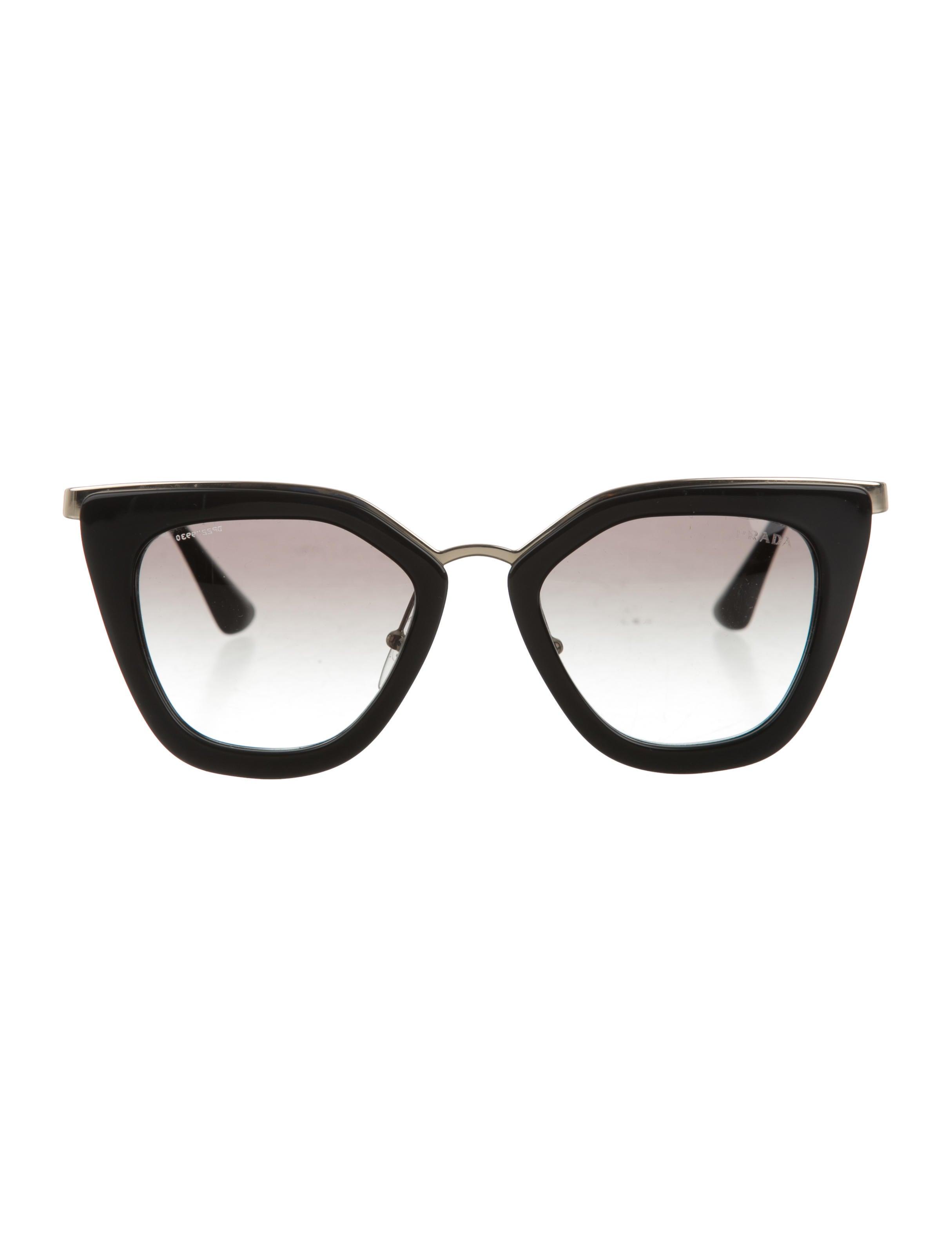 6eeca72794d Prada Gradient Cat-Eye Sunglasses - Accessories - PRA134867