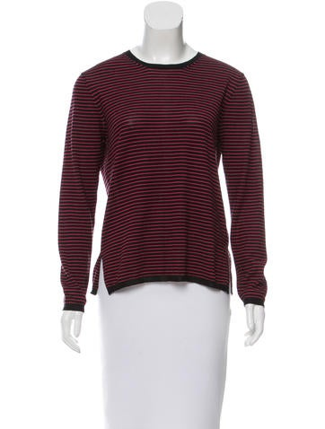 Prada Striped Lightweight Sweater None