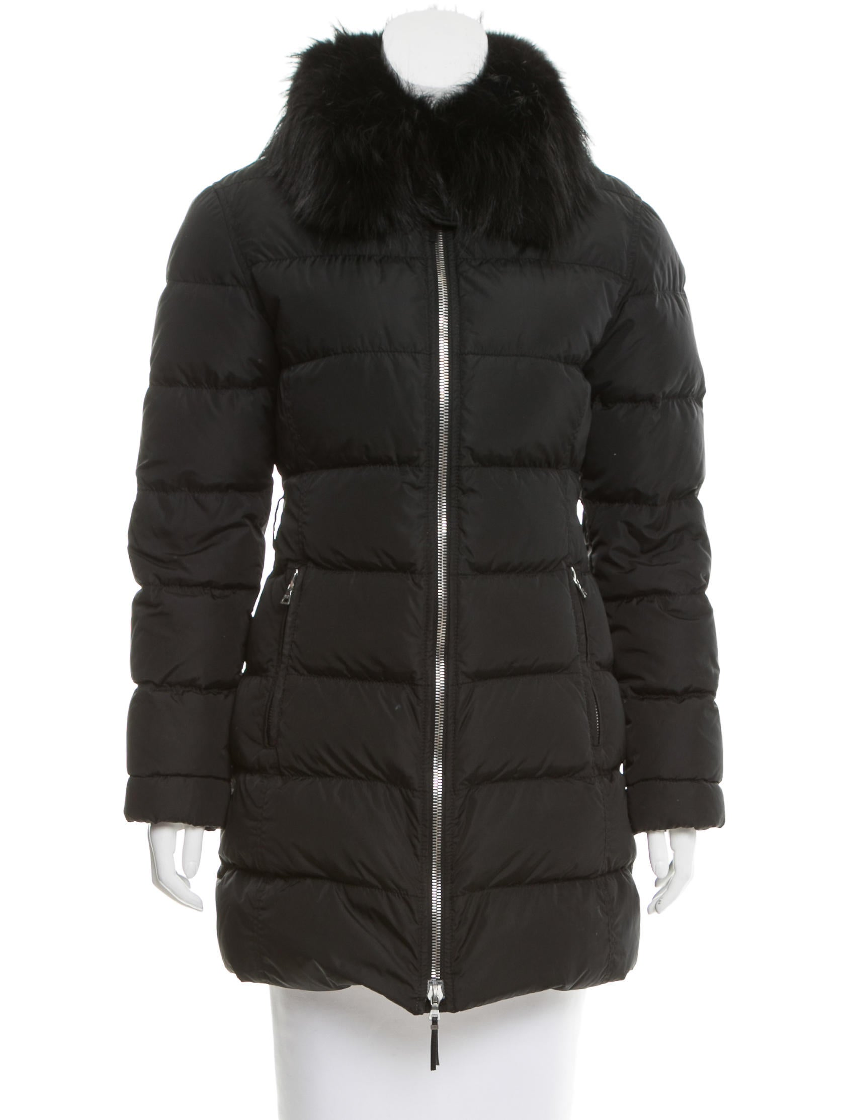 ALERT! It's the Summer sale you have been waiting for. This shopping deal on via spiga women's faux fur trimmed down coat, black, s for $