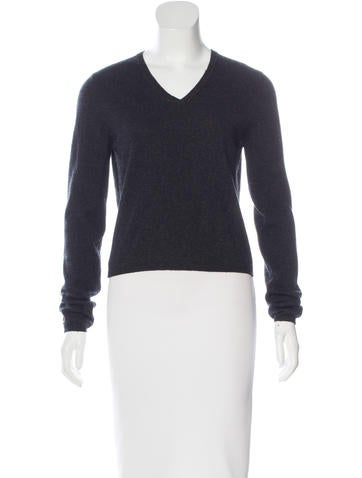 Prada V-Neck Knit Sweater None