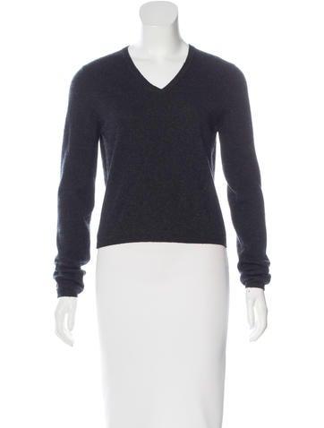Prada V-Neck Knit Sweater None