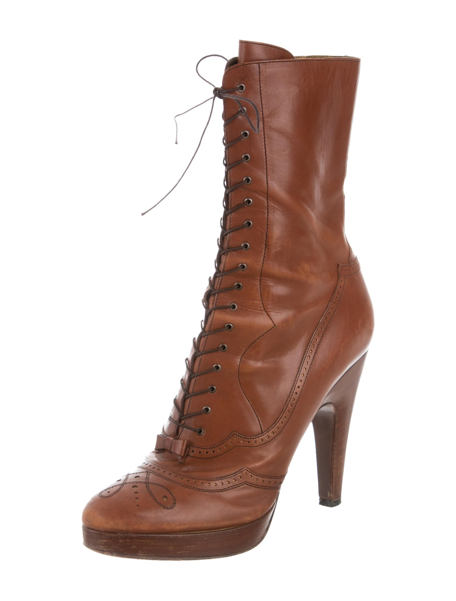 Elegant Michael Michael Kors Dawson Pointed-Toe Ankle Boots W/ Tags - Shoes - WM523933   The RealReal