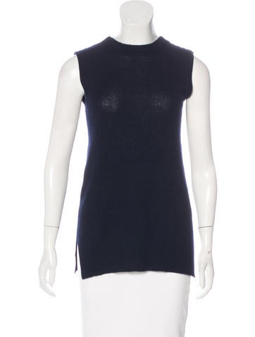 Prada Tie-Accented Knit Vest None