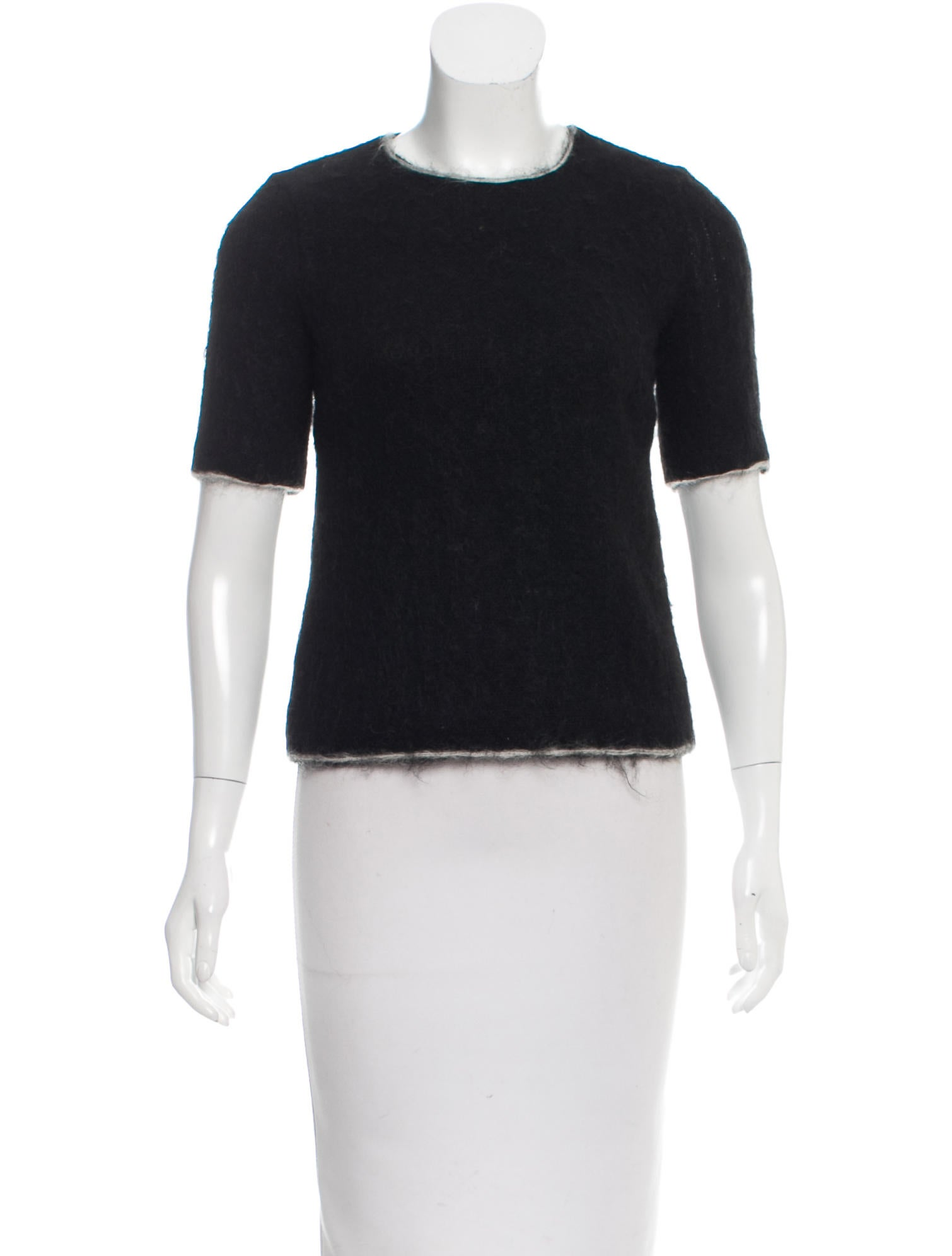 Prada wool mohair blend top w tags clothing for Best wool shirt jackets
