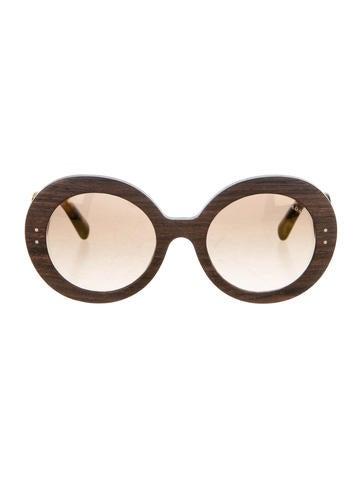 Prada Oversize Baroque Sunglasses w/ Tags None