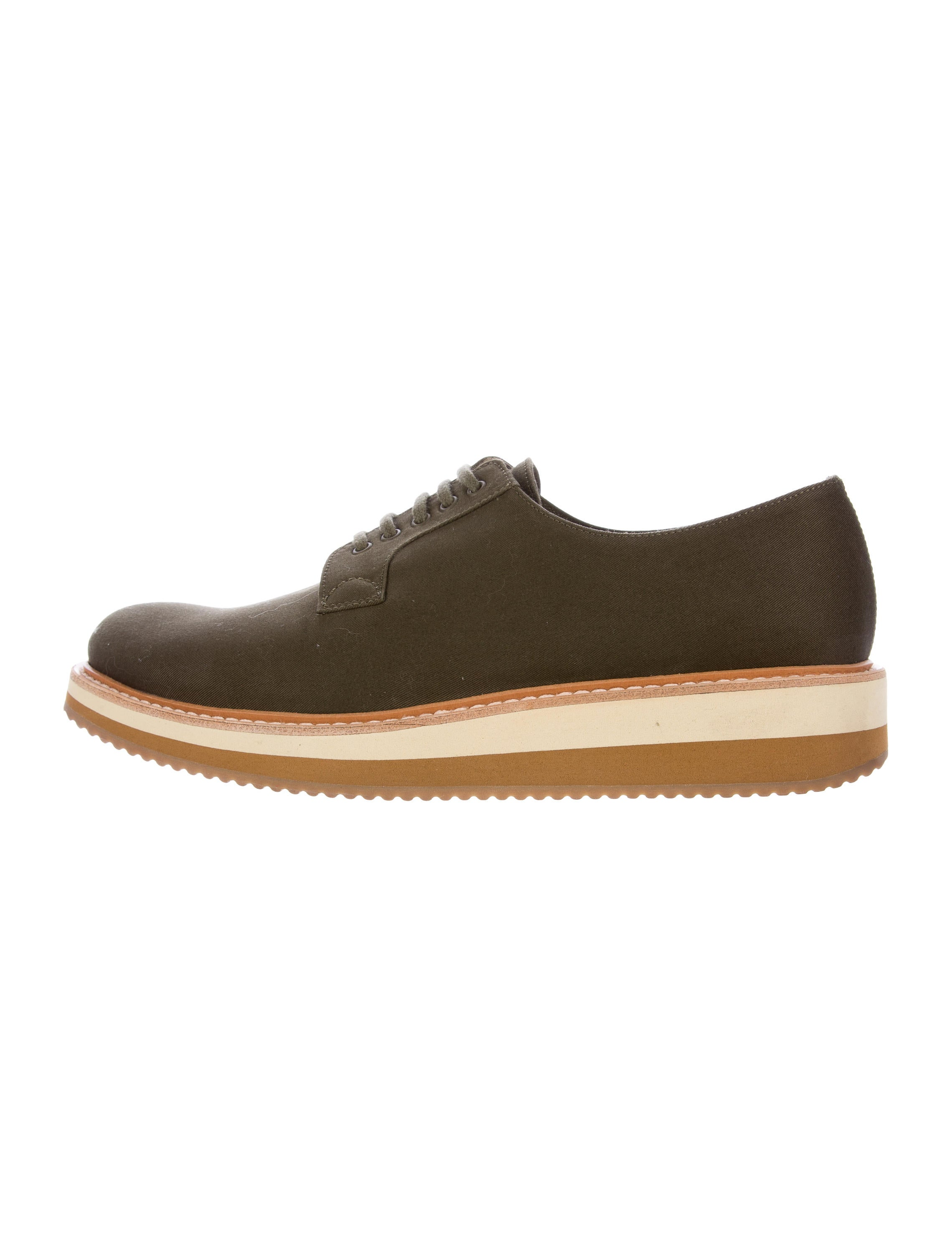 prada wedge sole derby shoes shoes pra139859 the
