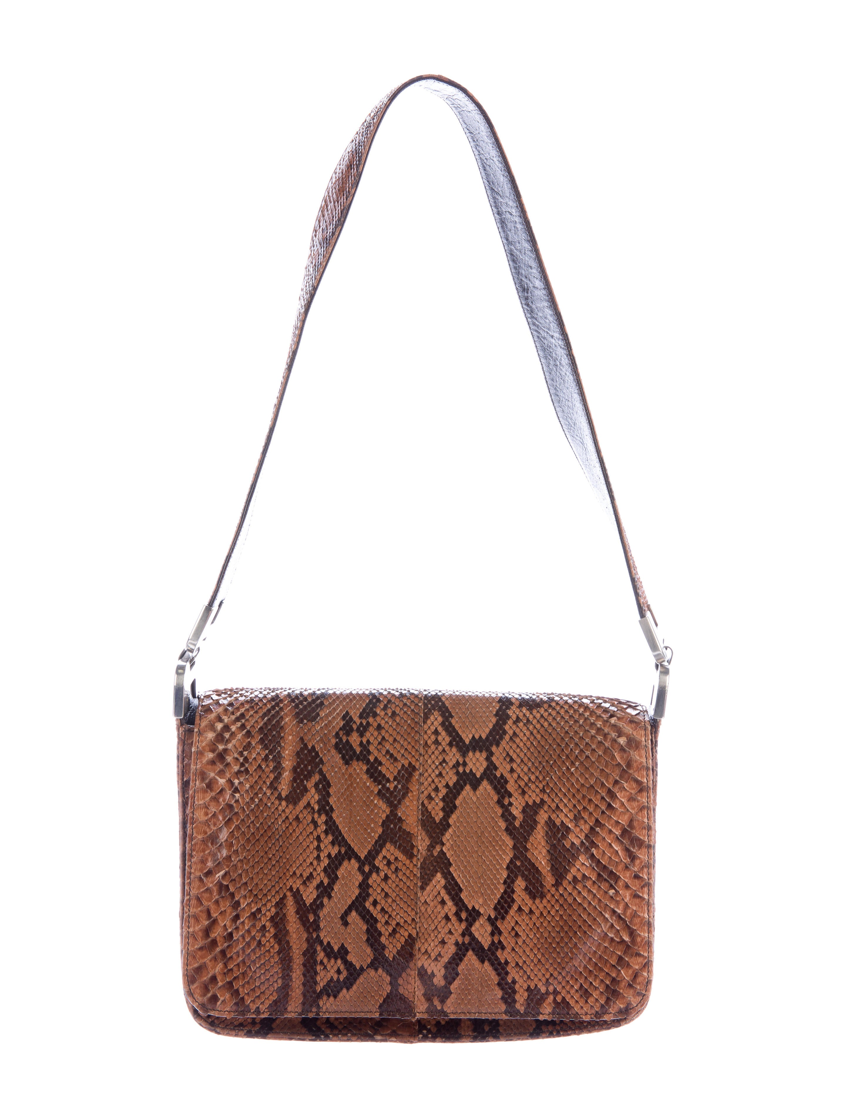 Prada Snakeskin Shoulder Bag Handbags Pra140570 The