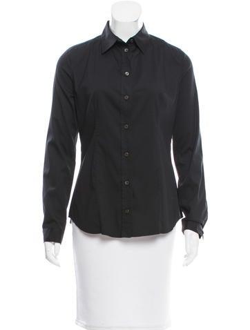 Prada Casual Button-Up Top None