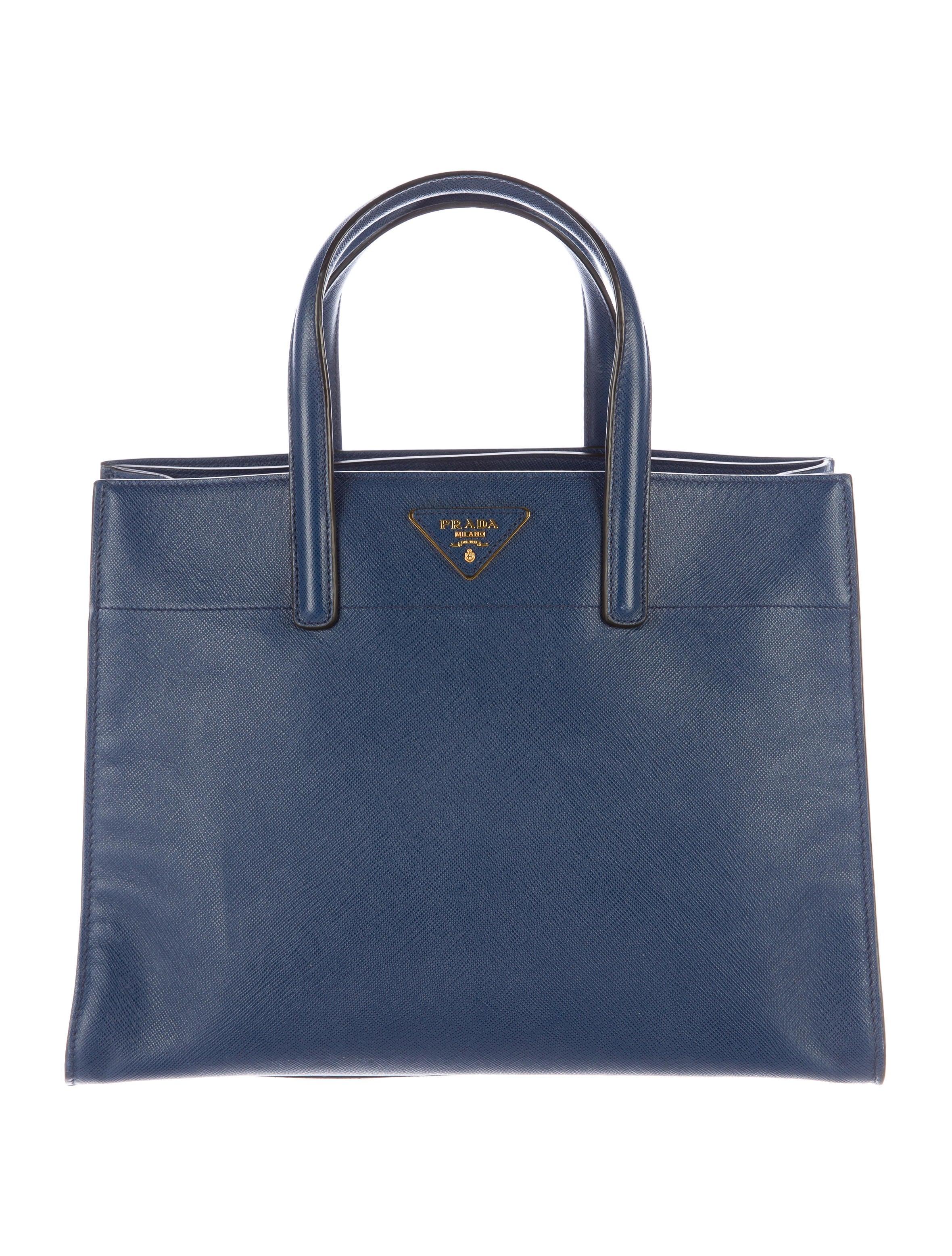 prada saffiano leather tote handbags pra141368 the