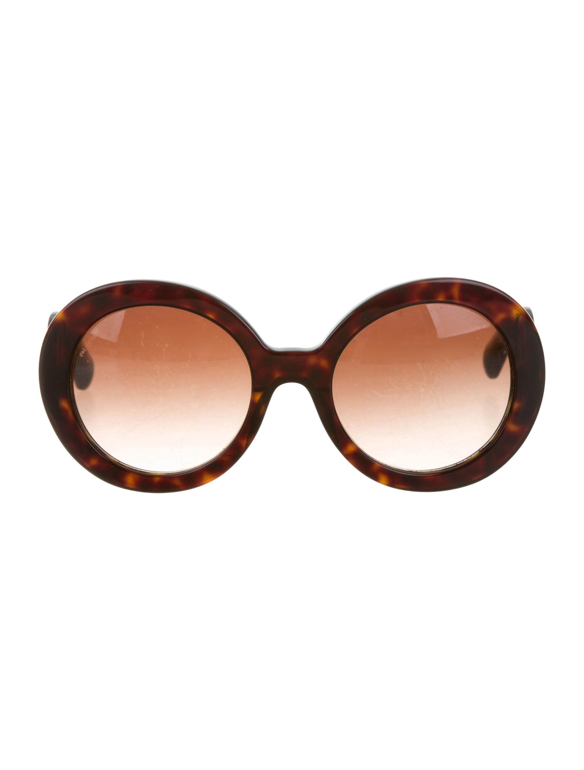 prada baroque round sunglasses accessories pra142277