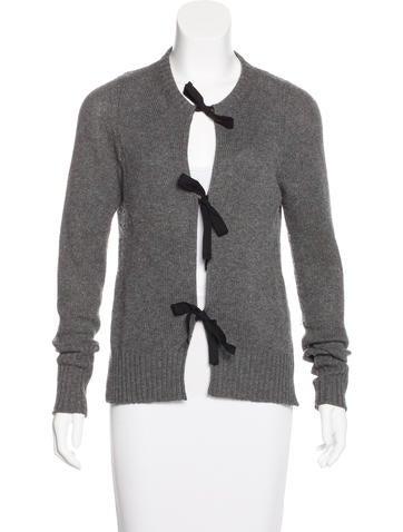 Prada Cashmere Knit Cardigan None