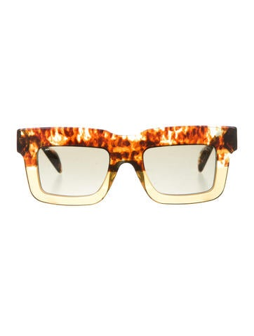 Square Marble Sunglasses