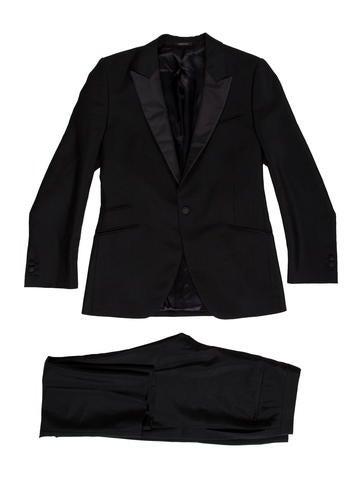 Prada One-Button Mohair & Virgin Wool-Blend Tuxedo None