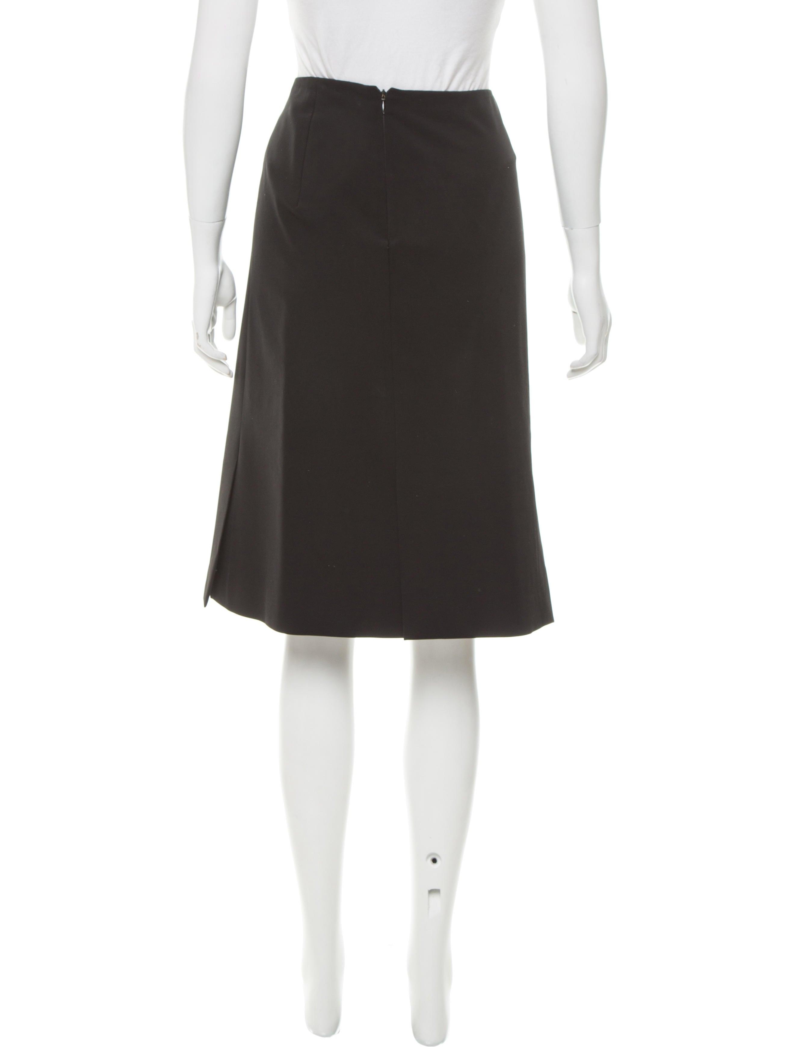 Prada Knee-Length Pencil Skirt - Skirts
