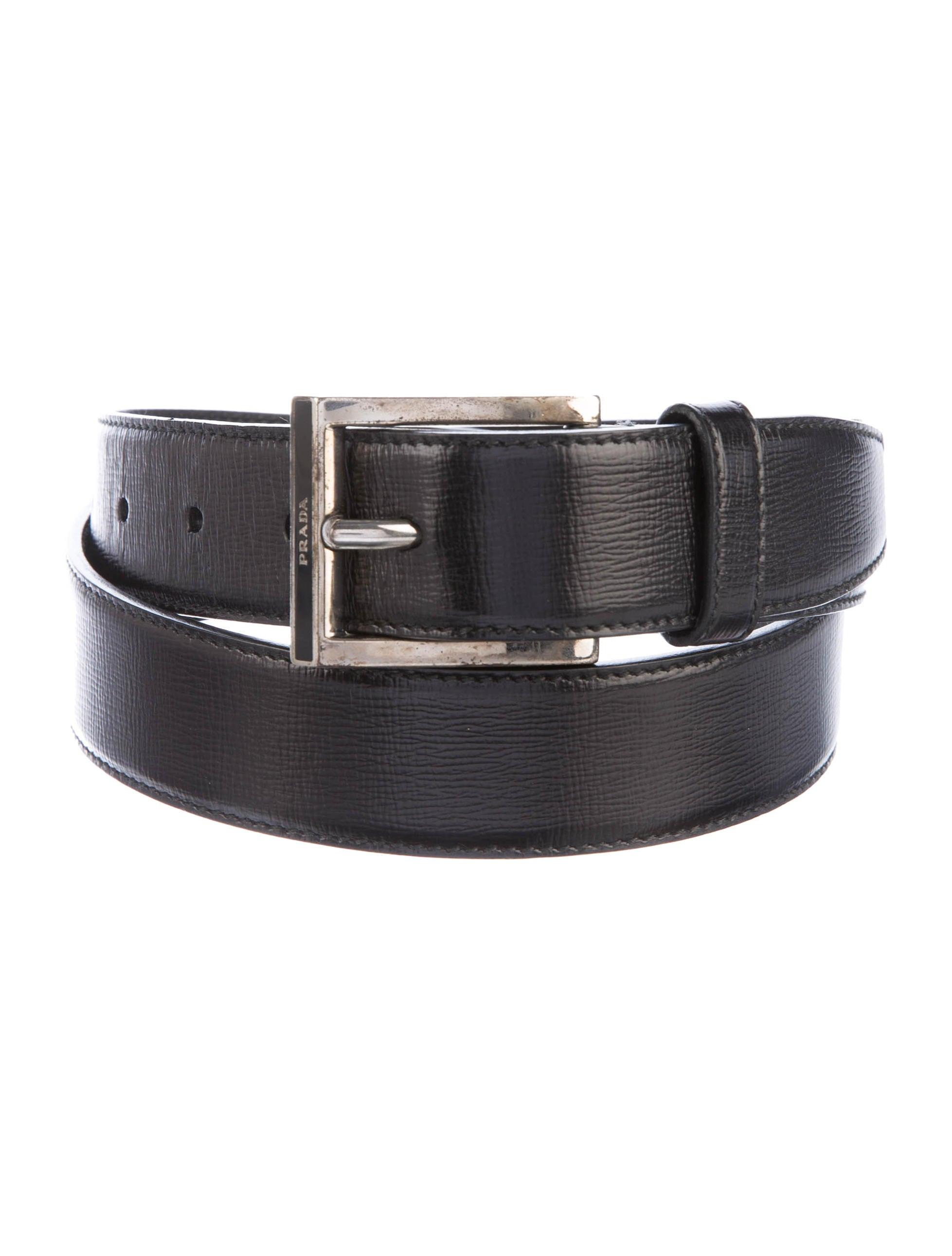 prada leather dress belt accessories pra144866 the