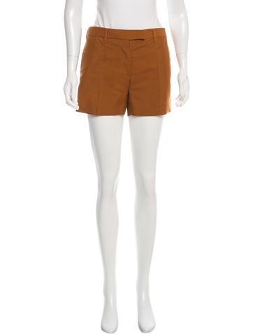 Prada Mohair Mini Shorts None