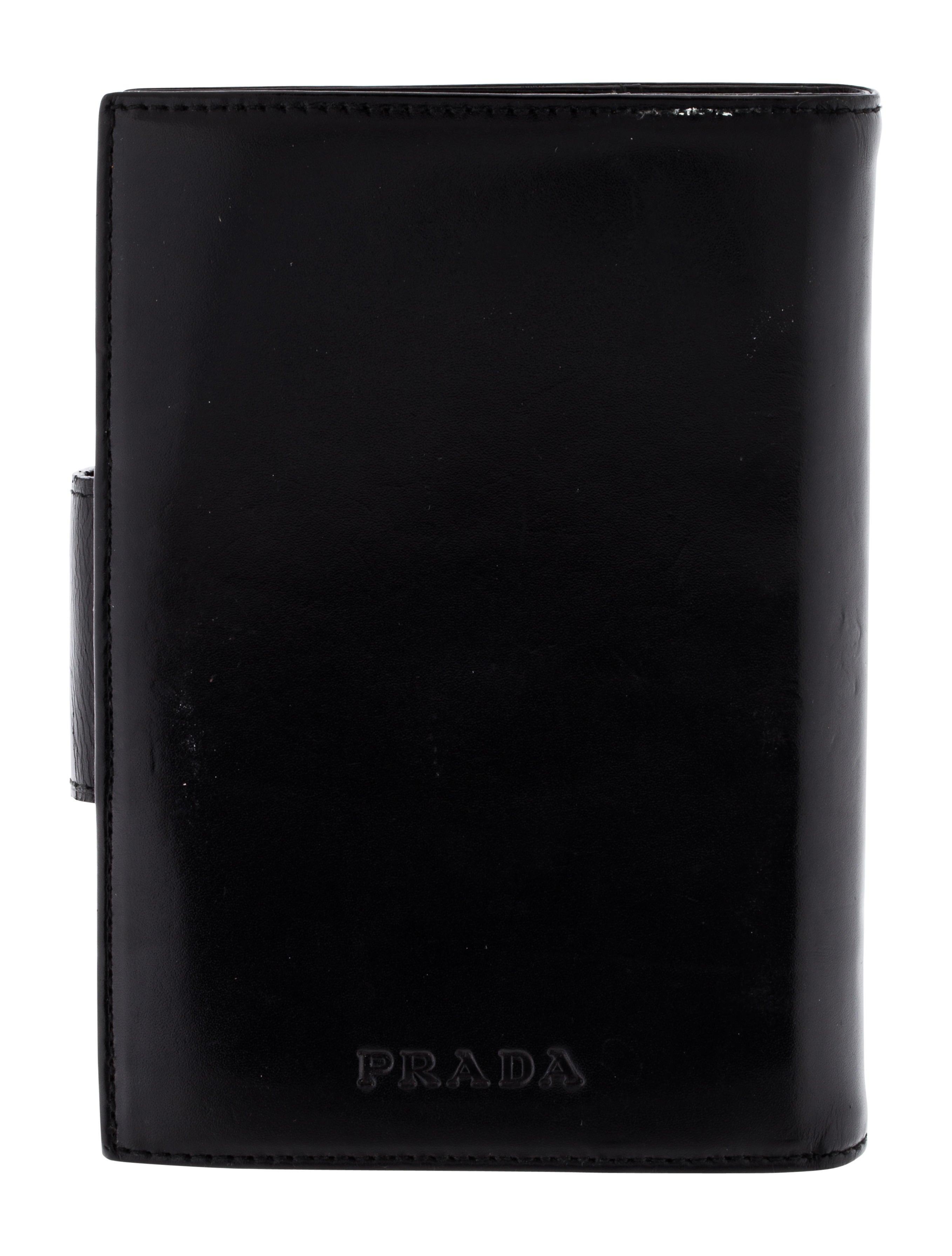 Prada Leather Planner Decor And Accessories Pra145451