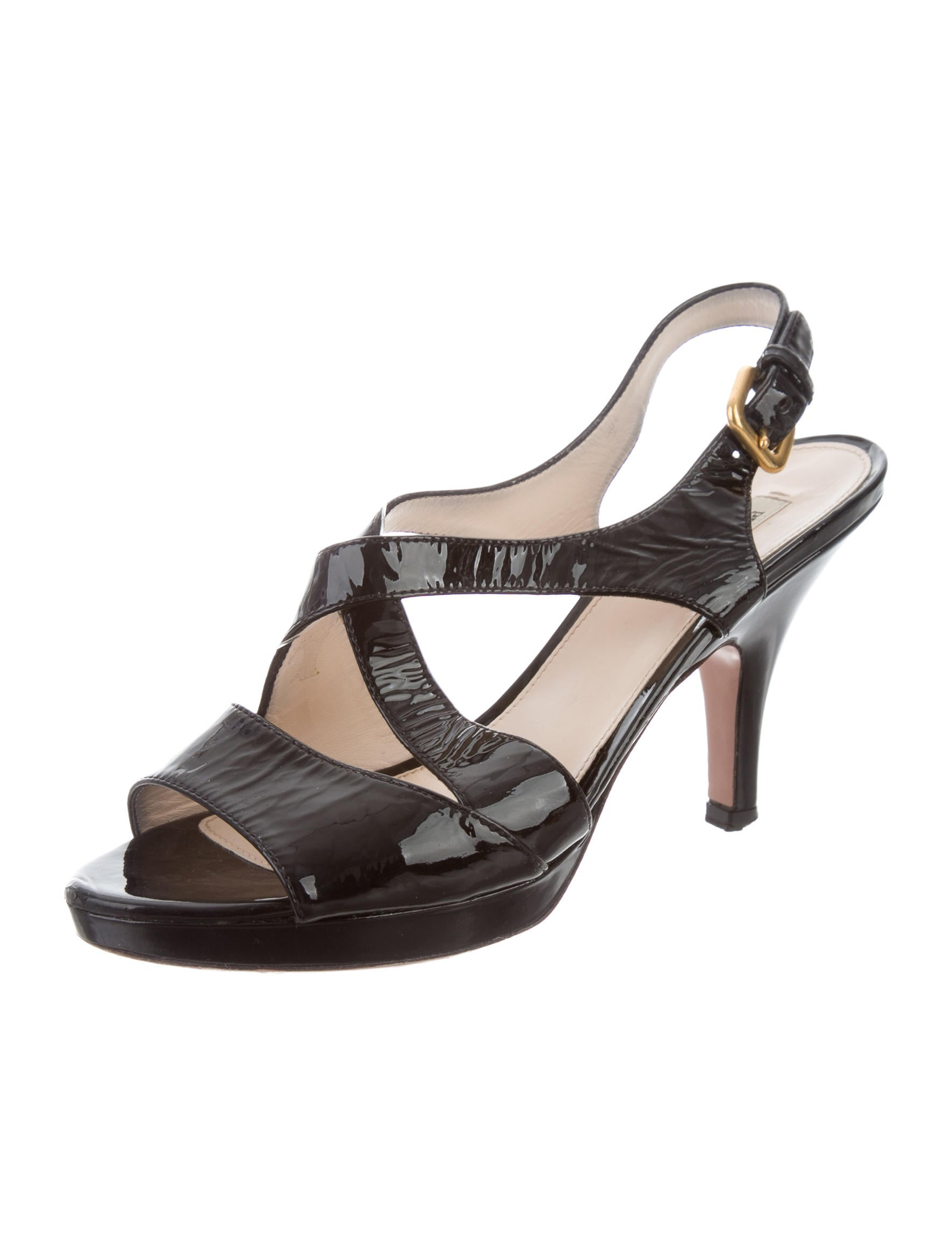 Reike Nen Square Platform Slingback - A slim square-toed platform and subtly flared block heel add modern panache to a svelte slingback fashioned from inky leather. more More like this Find other Women's Shoes.