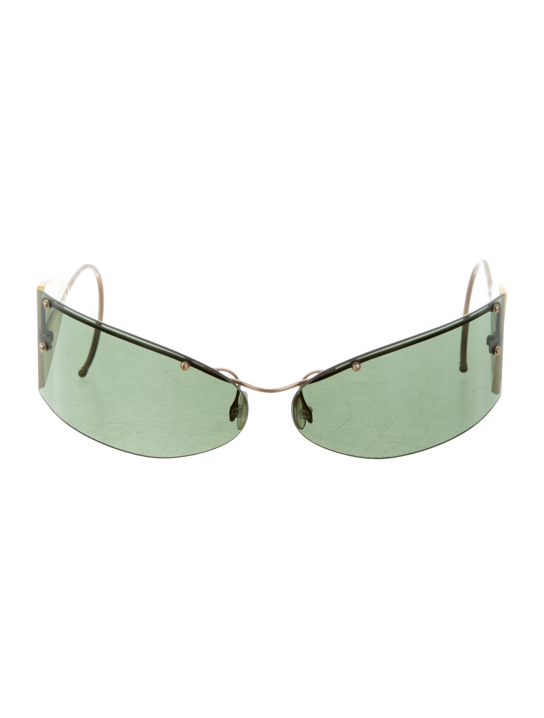 52a8e5dfc76 Prada Rimless Glasses