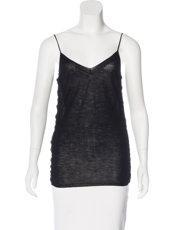 Prada wool sleeveless top clothing pra146975 the for Best wool shirt jackets
