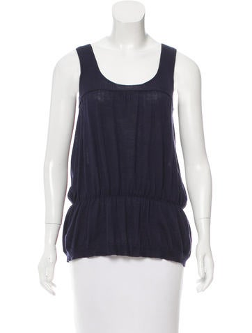 Prada Wool Sleeveless Top None