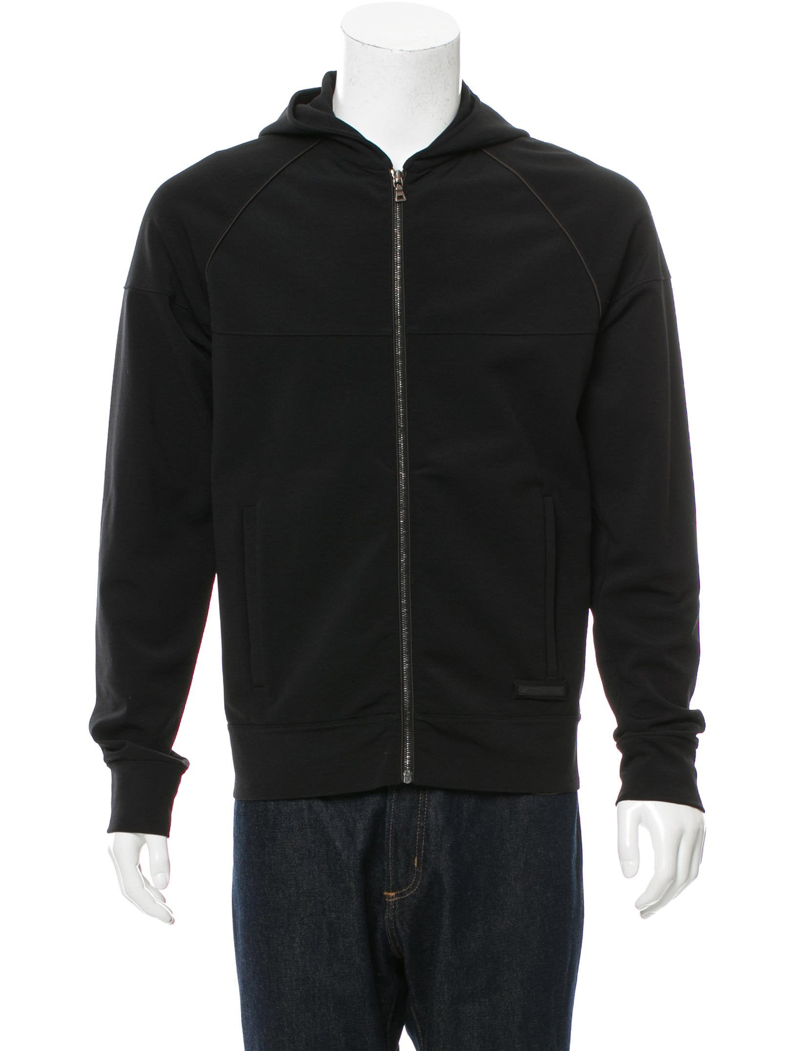 Prada Nylon Zip-Up Hoodie - Clothing - PRA147501 | The RealReal