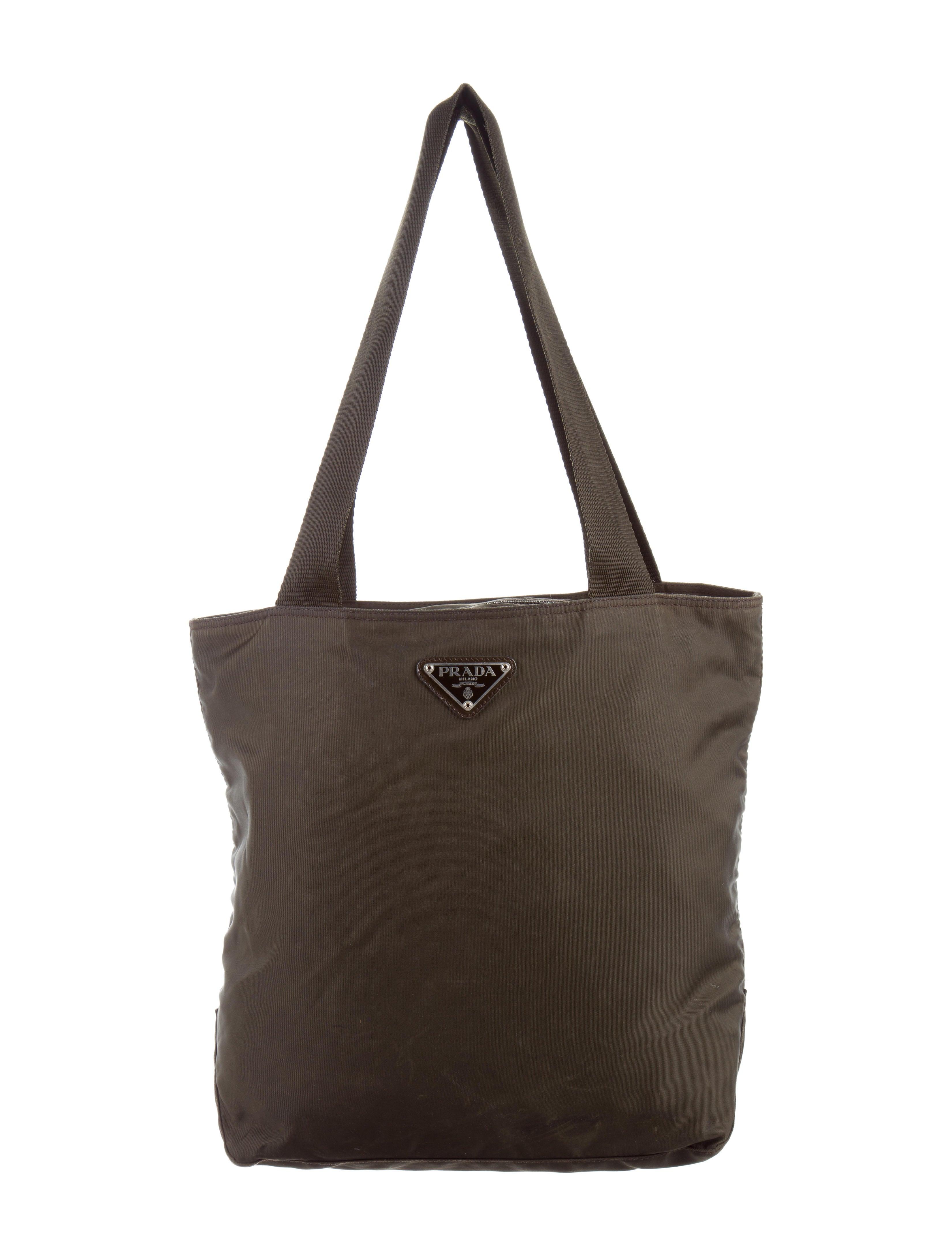 prada tessuto tote bag handbags pra147551 the realreal