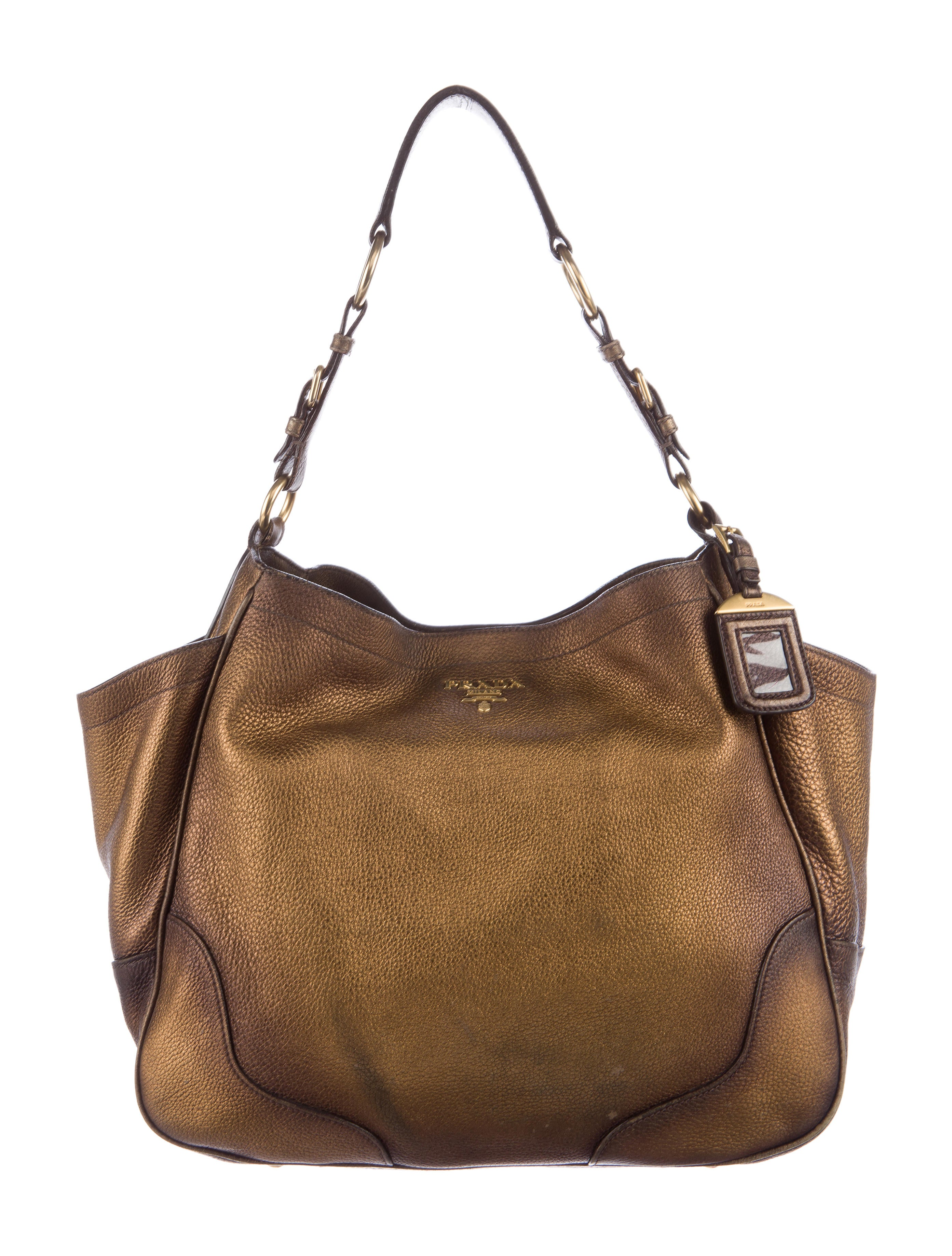 1c1bbd072c9830 ... discount prada vitello daino antik tote handbags pra148032 the realreal  03304 ac408