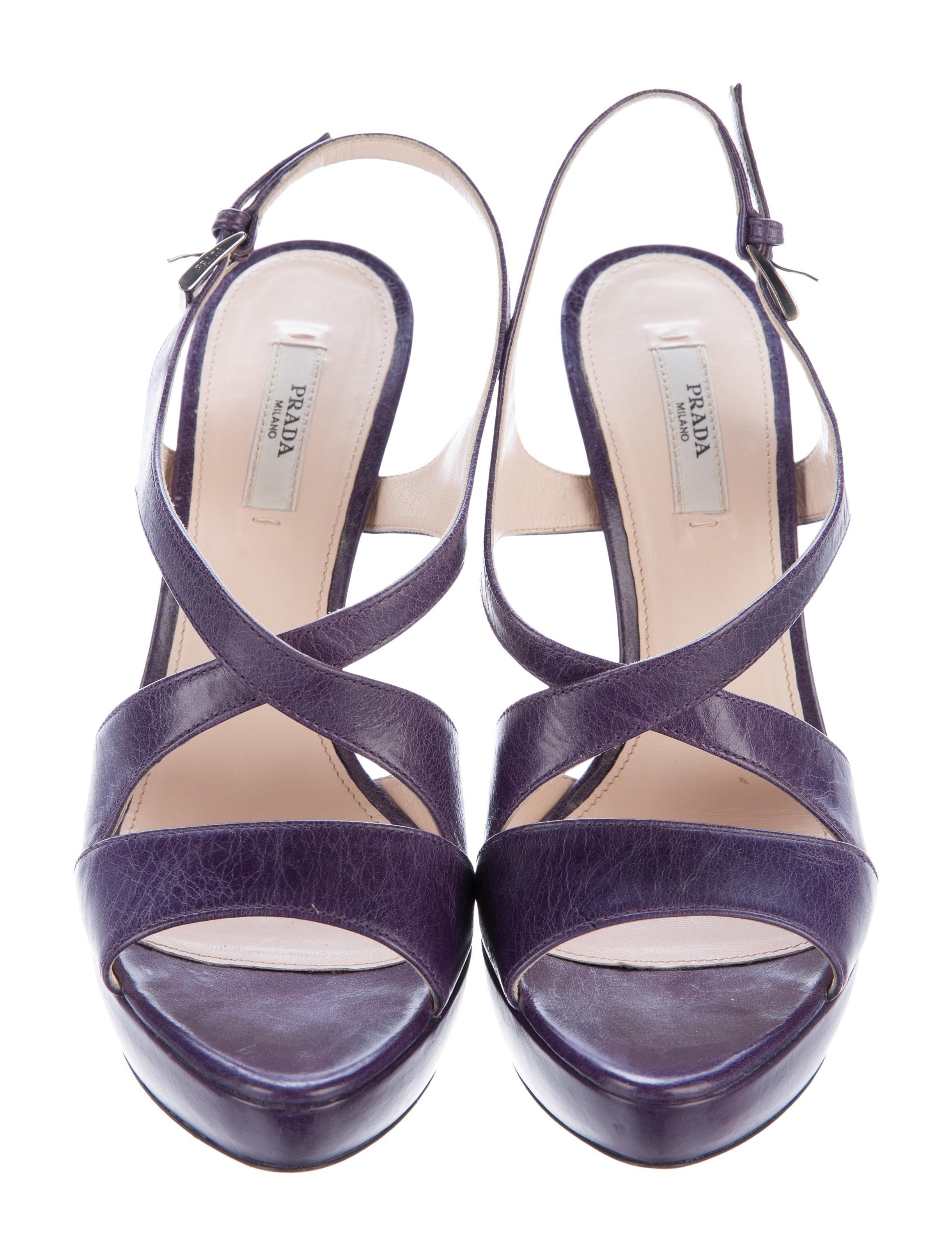 prada cross platform sandals shoes pra150254