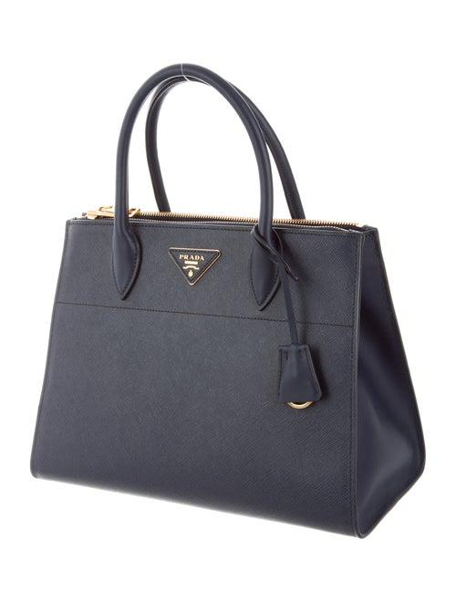 dbed6e6724a1 Prada Medium Saffiano Greca Paradigm Tote - Handbags - PRA150842 ...
