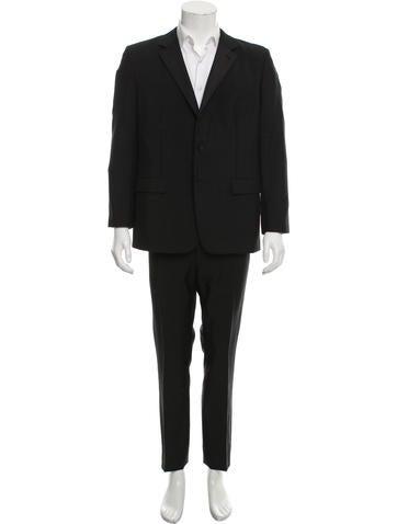 Prada Mohair & Wool-Blend Suit None