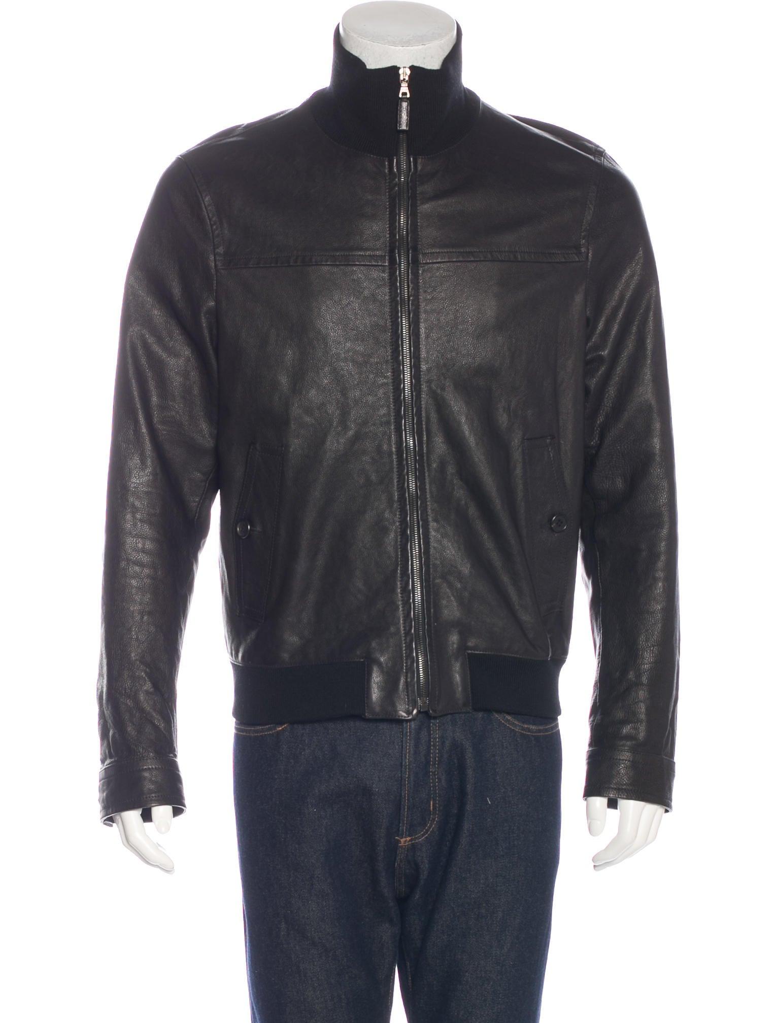 Prada leather jackets
