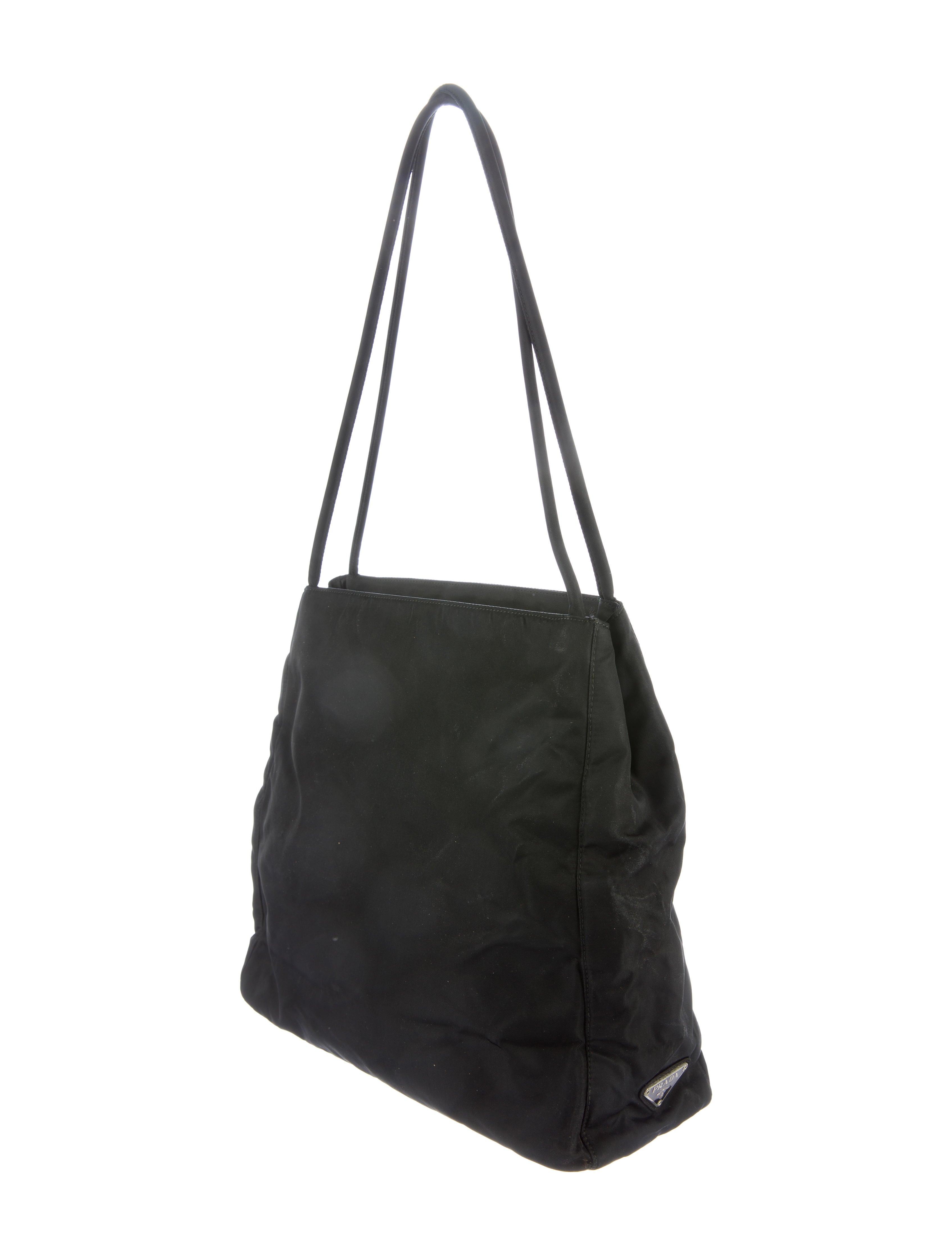 ca6be2e345da90 Prada Tessuto Shopper Tote - Handbags - PRA151857   The RealReal
