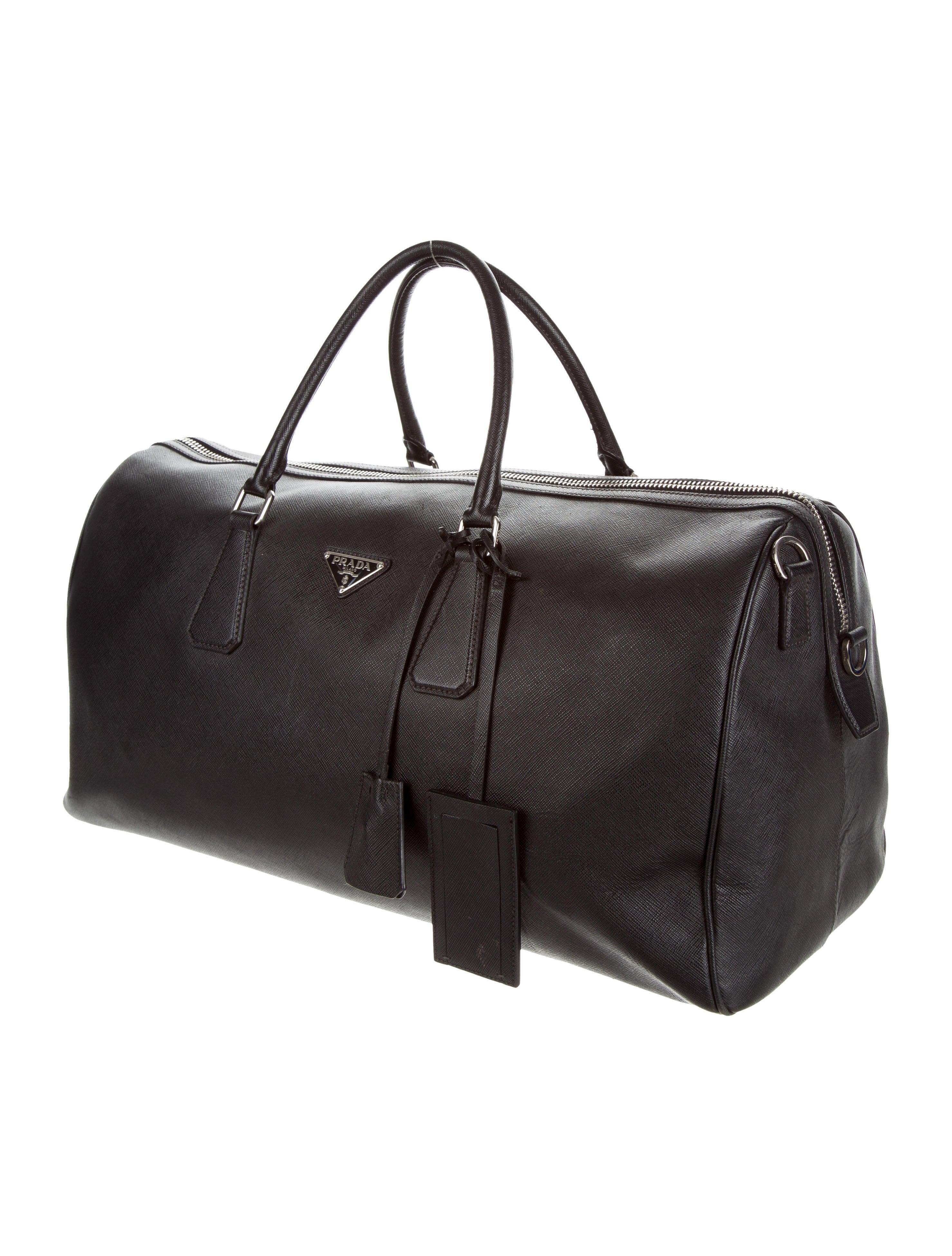 Saffiano Duffle Bag